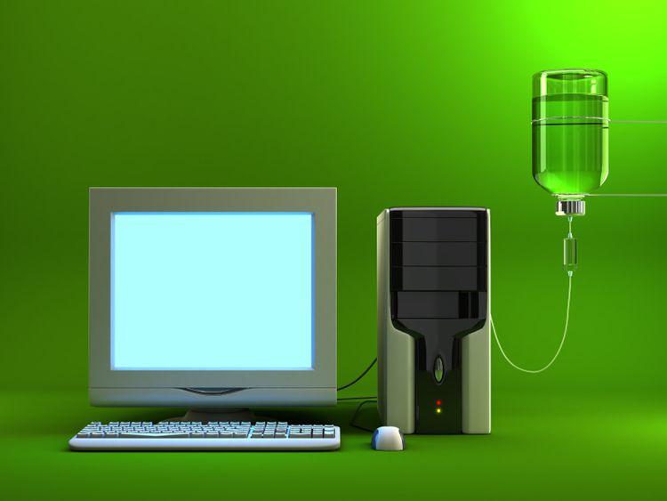 green+computer